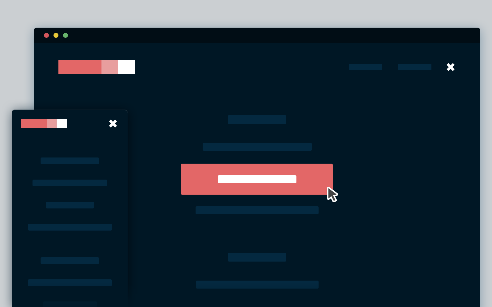 Pop Out Screen : Css and jquery full screen pop out navigation codyhouse