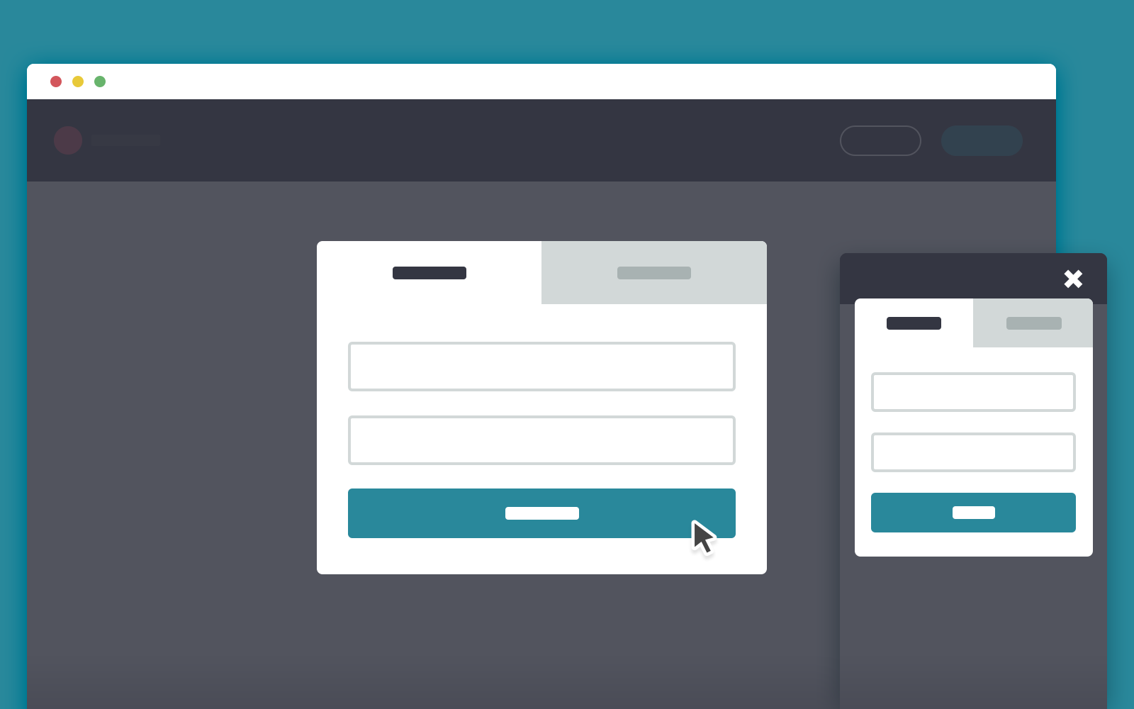 Css and javascript loginsignup modal window codyhouse falaconquin