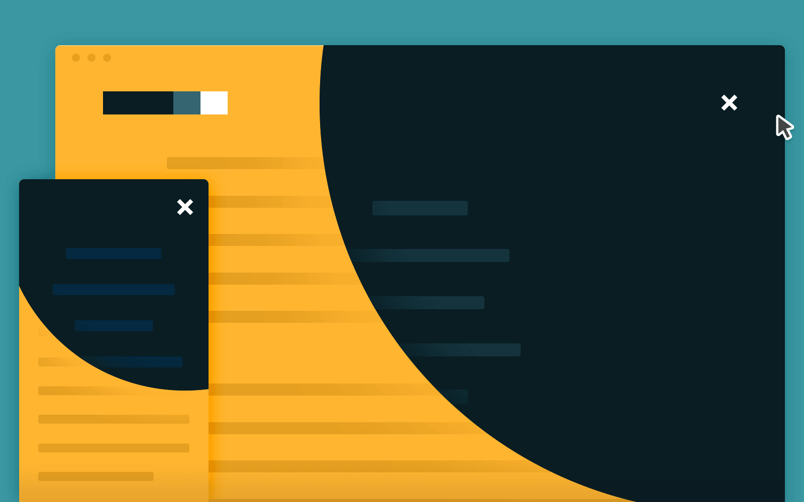 Rounded Animated Navigation in CSS and jQuery | CodyHouse