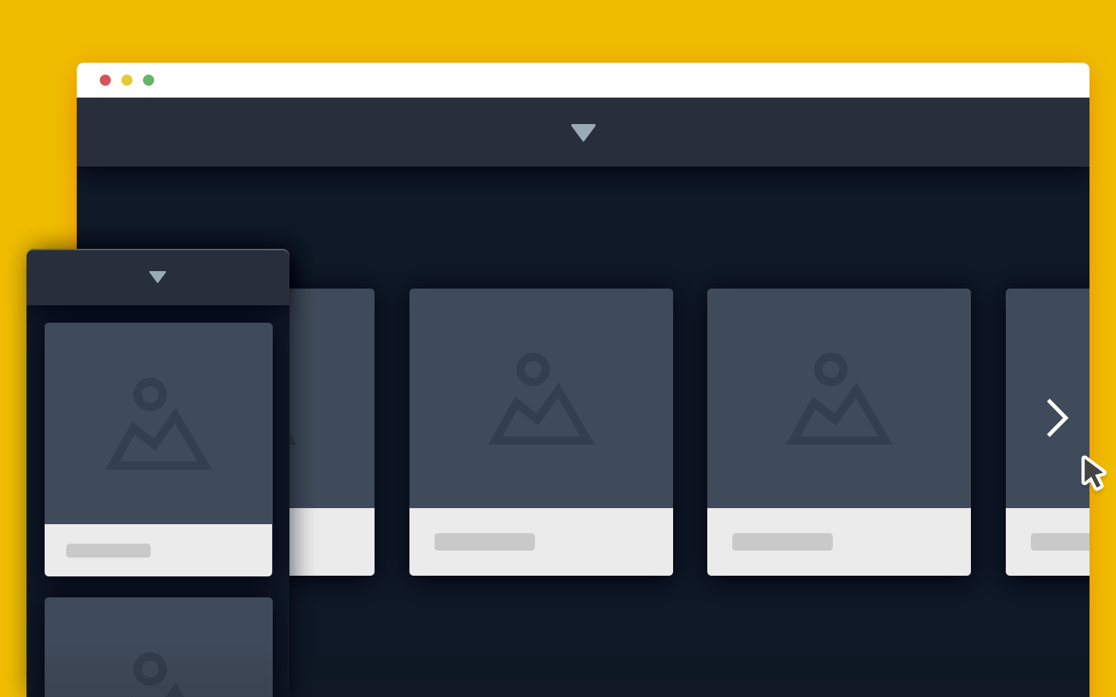 Squeezebox Portfolio Template in CSS and jQuery