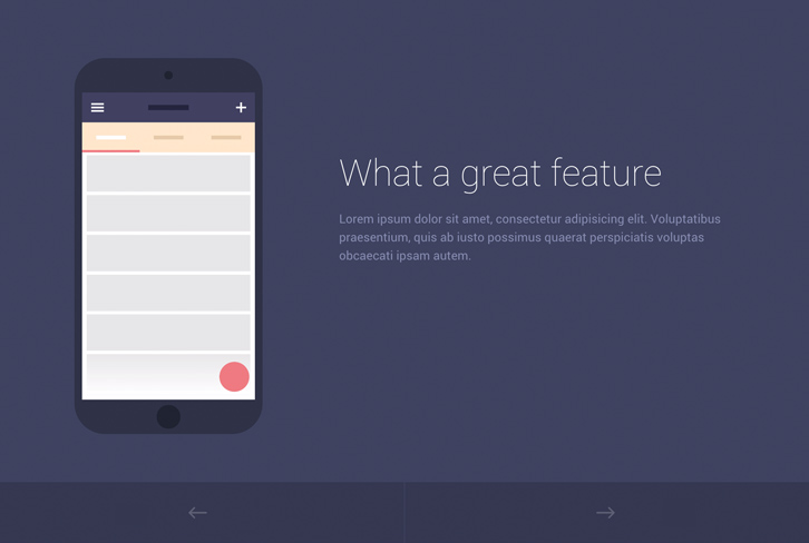 Mobile App Introduction Template