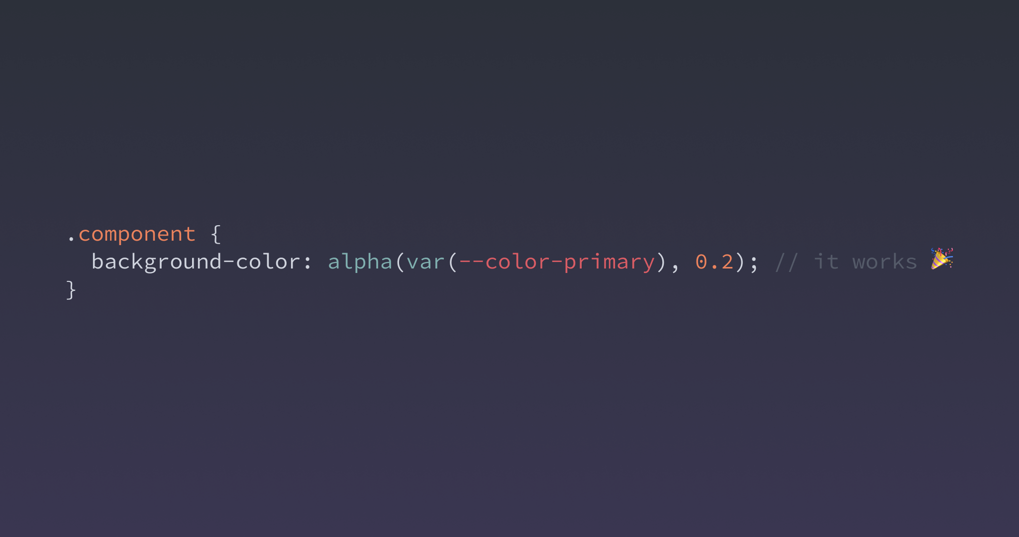 How To Combine Sass Color Functions And Css Variables Codyhouse